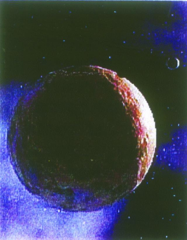 Artist Conception of the planetoid of Sedna